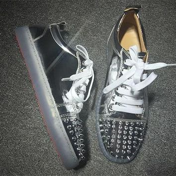 Cl Christian Louboutin Low Style #2049 Sneakers Fashion Shoes