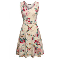 Casual Floral Sundress