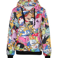 Adventure Time Collage Hoodie