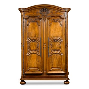 Antique Armoire, French Antique Furniture, French Provincial Armoire, Louis XV