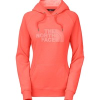 The North Face Avalon Pullover Hoodie for Women in Radiant Orange CZZ4-ELR