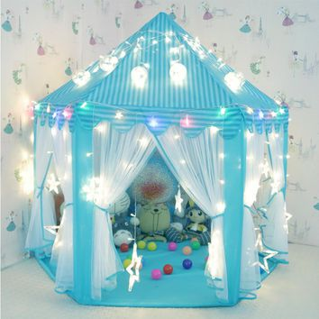 2018 Adorable Fantasy Children's Fancy Blue Play Tent Pre-Order