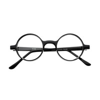 Retro Style Thick Frame Clear Lens Circle Round Glasses Frames R42