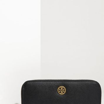 Tory Burch 'Robinson' Zip Continental Wallet