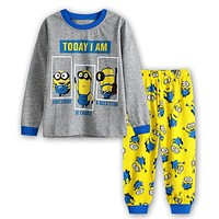 NEW cartoon PAW dog kids pajama sets,children sleepwear pajamas boys nightwear children's Pyjamas minions pajamas for boys 2t-7t
