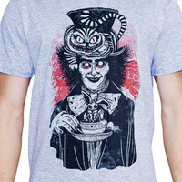 Camiseta 'Alice no país dos horrores' no Camiseteria.com