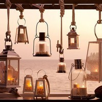 Bright.Bazaar: {Summer Dining by Candlelight}