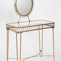 Plum & Bow Wire Loop Vanity