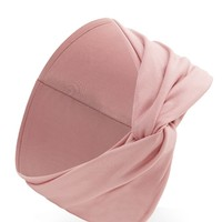 Ribbed Twist-Front Headwrap
