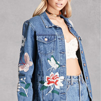 Pixie And Diamond Denim Jacket