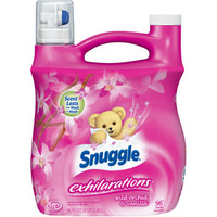Walmart: Snuggle Exhilarations Liquid Fabric Softener, Wild Orchid & Vanilla Kiss, 96 oz