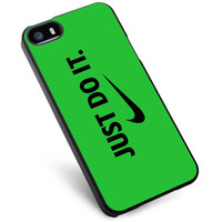 Nike Just Do It Green iPhone 5s Case