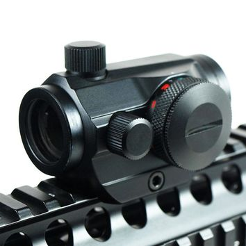 Hunting Red Dot Scopes Sight 20mm Mount Airsoft Pistol Scope Optics Riflex Riflescopes Red Dot Air Guns Scopes Holographic Sight