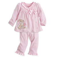 Miss Bunny Knit Top and Pants Set for Baby