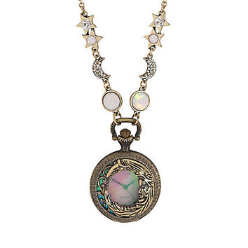Blackheart Celestial Pendant Pocket Watch Necklace