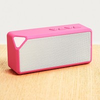UO Neon Pink Portable Speaker | Urban Outfitters