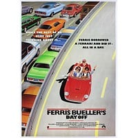 Vintage Ferris Bueller's Day Off International Release Movie Poster// Classic Movie Poster//Movie Poster//Poster Reprint//Home Decor