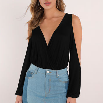 Destiny Cold Shoulder Bodysuit