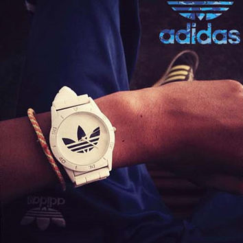 Adidas Silicone Strap Watch - White