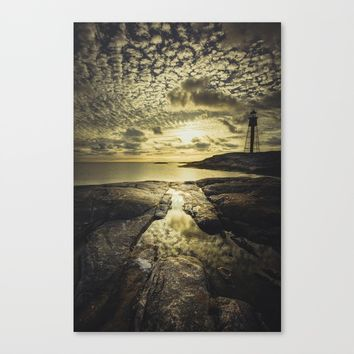 Good night sweet sun Canvas Print by HappyMelvin