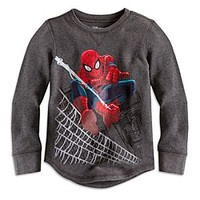 Spider-Man Long Sleeve Thermal Tee for Boys | Disney Store