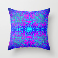 Bright Cool Stars Throw Pillow by 2sweet4words Designs | Society6