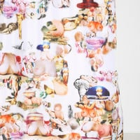 Family Jewels Boobs & Bombs Shower Curtain