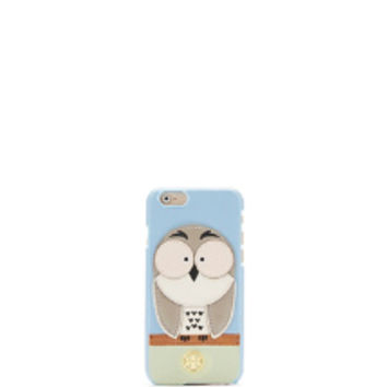 Tory Burch Owl Appliqué Case For Iphone 6