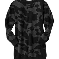 Gap Girls Camo Sweater Dress