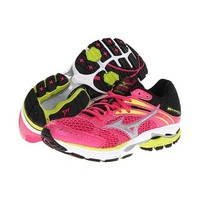 Mizuno Wave Inspire 9 Women's Running Beetroot, Silver, Lime 410526.1C73