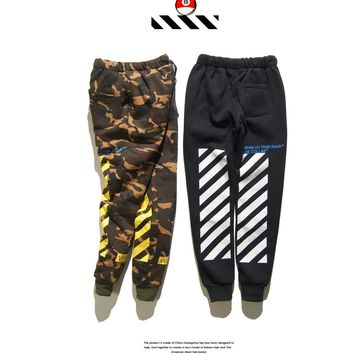 Cotton Pants Camouflage Sportswear [211448954892]