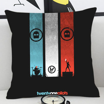 Twenty One Pilots Band - Pillow Cover by PillowKesetiaan.
