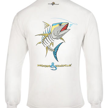 Men's Yellowfin Tuna L/S UV Fishing T-Shirt