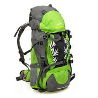 Large Capacity Nylon Men's Professional Hiking Backpack Camping Climbing Bags Travel Mountaineering Bag Trekking Sport Rucksack