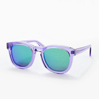 Wildfox Mirror Lens Sunglasses in Purple - Urban Outfitters