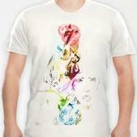 Lady Gaga T-shirt by D77 The DigArtisT | Society6