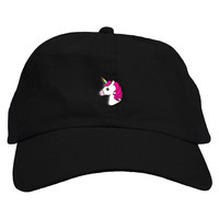 Unicorn Emoji Dad Hat