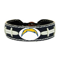 San Diego Chargers Team Color Football Bracelet