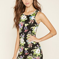 Floral Bodycon Mini Dress | Forever 21 - 2000200003