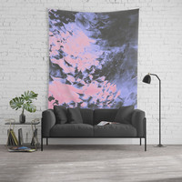 Only for a Moment Wall Tapestry by duckyb