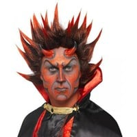 Devil Punky Wig Costume Accessory Adult Halloween