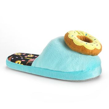 Sprinkled Donut Women's Slippers
