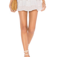 lolli swim x REVOLVE Eyelet Skirt in White Eyelet