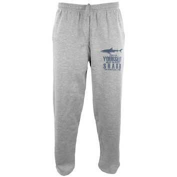 Always Be Yourself Shark Mens Sweatpants