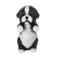 Climbing Black And White Puppy Decor