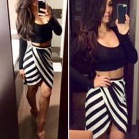 CUTE TWO PIECE GRAIN DRESS