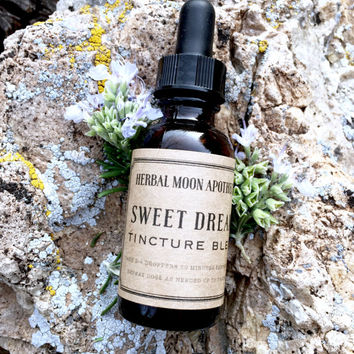 ACV Sweet Dreams tincture • non-alcoholic • gluten free • natural herbal remedy for insomnia, stress, anxiety, sleep troubles