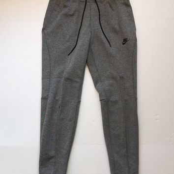 KUYOU Nike Womens Sportswear Tech Fleece Pants Dark Grey 831713-091