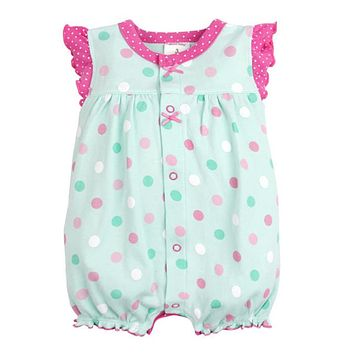 Baby Rompers Summer Baby Girl Clothes 2017 Newborn Baby Clothes Roupas Bebe Infant Jumpsuit Baby Girl Clothing Set Kids Clothes
