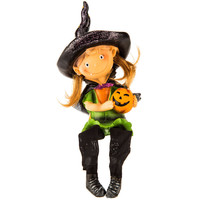 Witch Shelf Sitter with Jack-O-Lantern | Hobby Lobby | 406310205